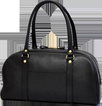 カジュアルボストンバッグ(V-139) ブラック 革:スターレ