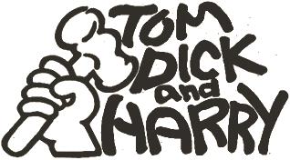 「TOM DICK&HARRY」の意味は「有象無象」「みんな」
