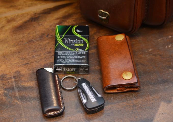 スタッフ愛用品:2ポケット・ハードショルダーバッグ(CK-25) 愛用方6