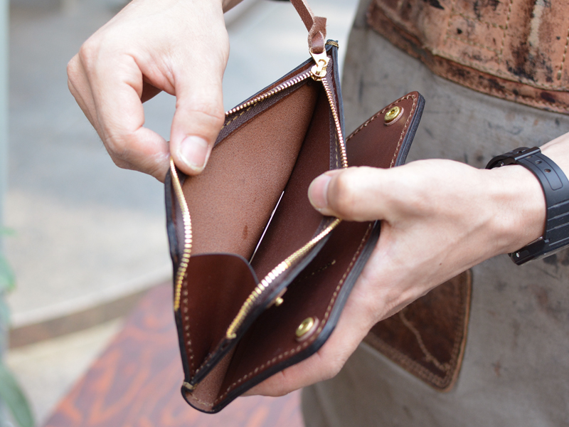 長財布 小銭収納
