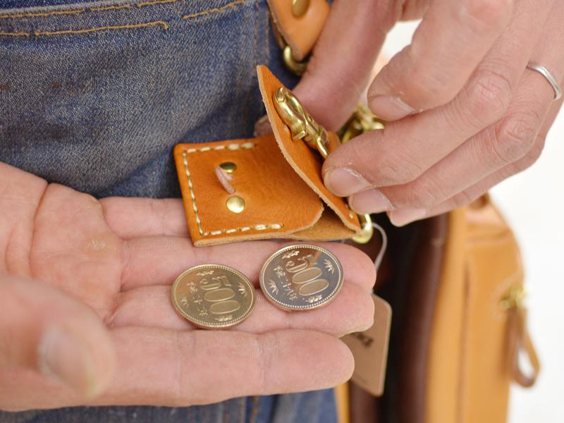ダブルコインキーホルダー 500円玉