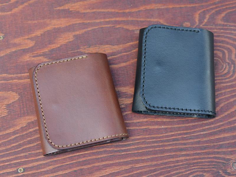 Organ作り手:齋藤による三つ折財布