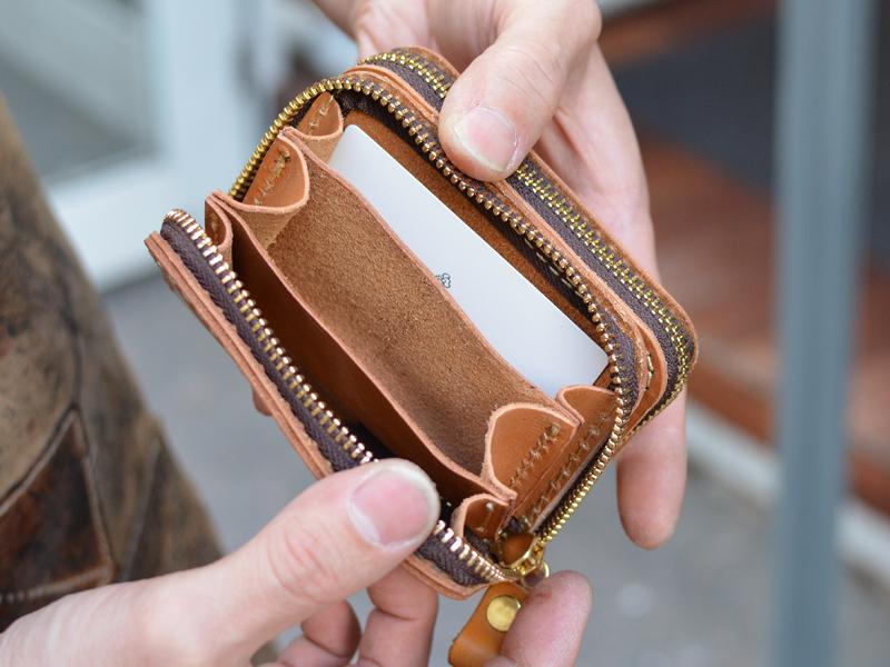 一体型財布 オープン