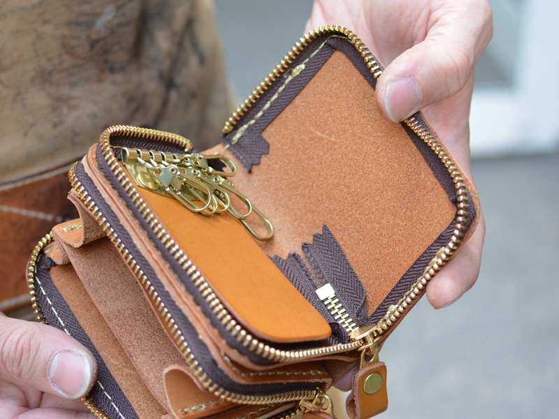 一体型財布 キーケース