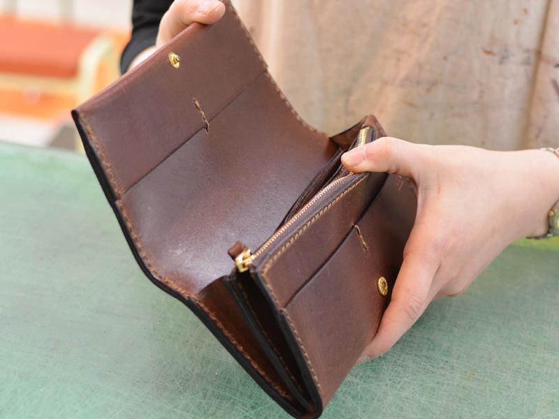作り手:西川 長財布