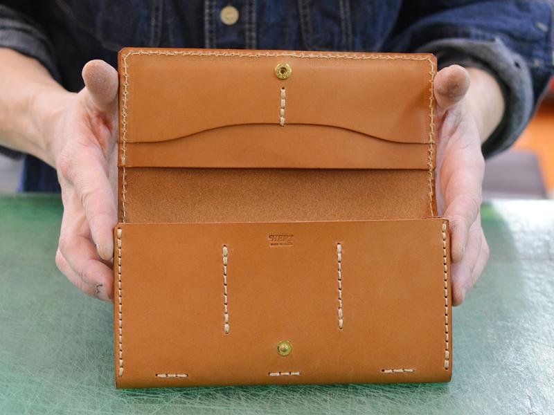作り手:村越 長財布
