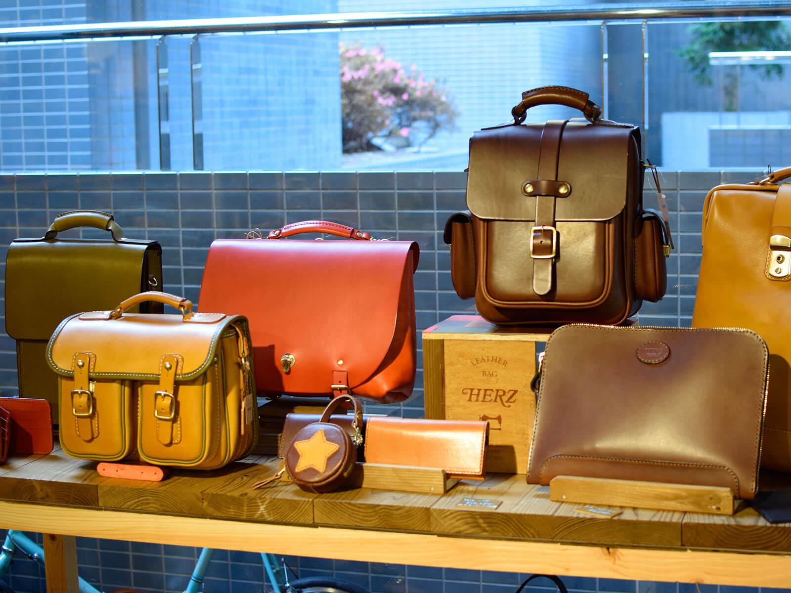 プチオーダー鞄 in HERZ名古屋店