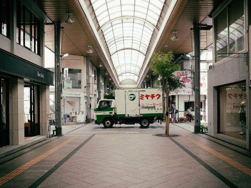 宮崎の商店街