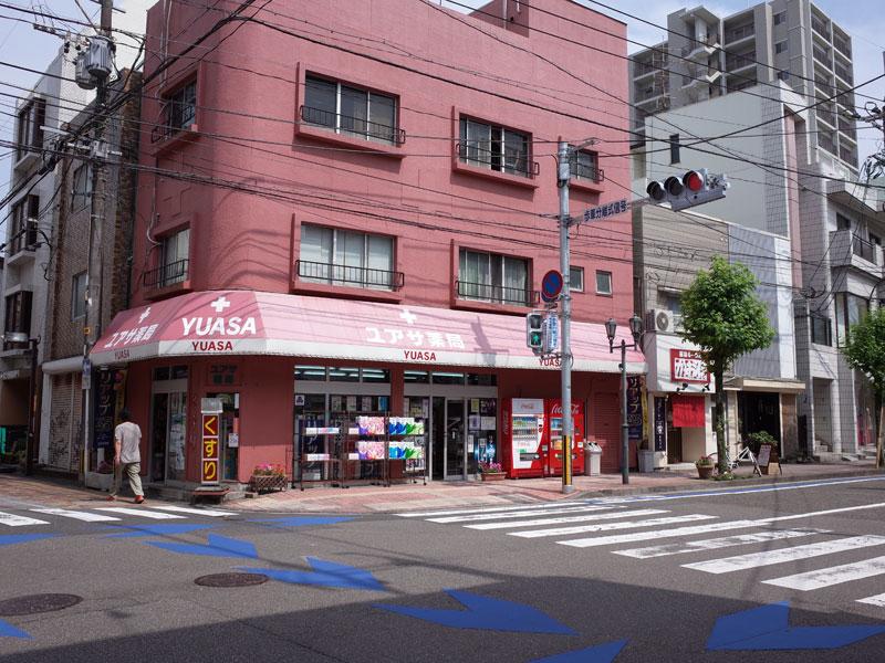 宮崎の街並み