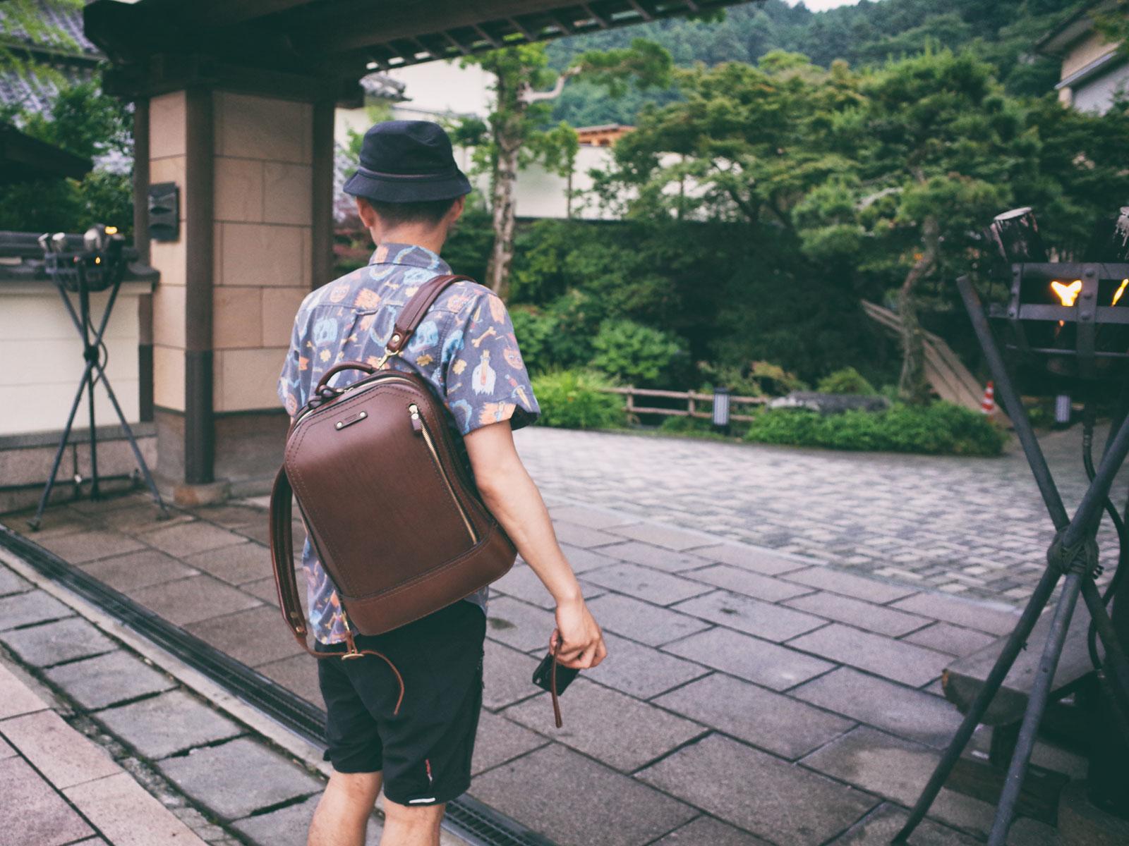 ビートルリュックと共に 出張と休みの間で廻る九州