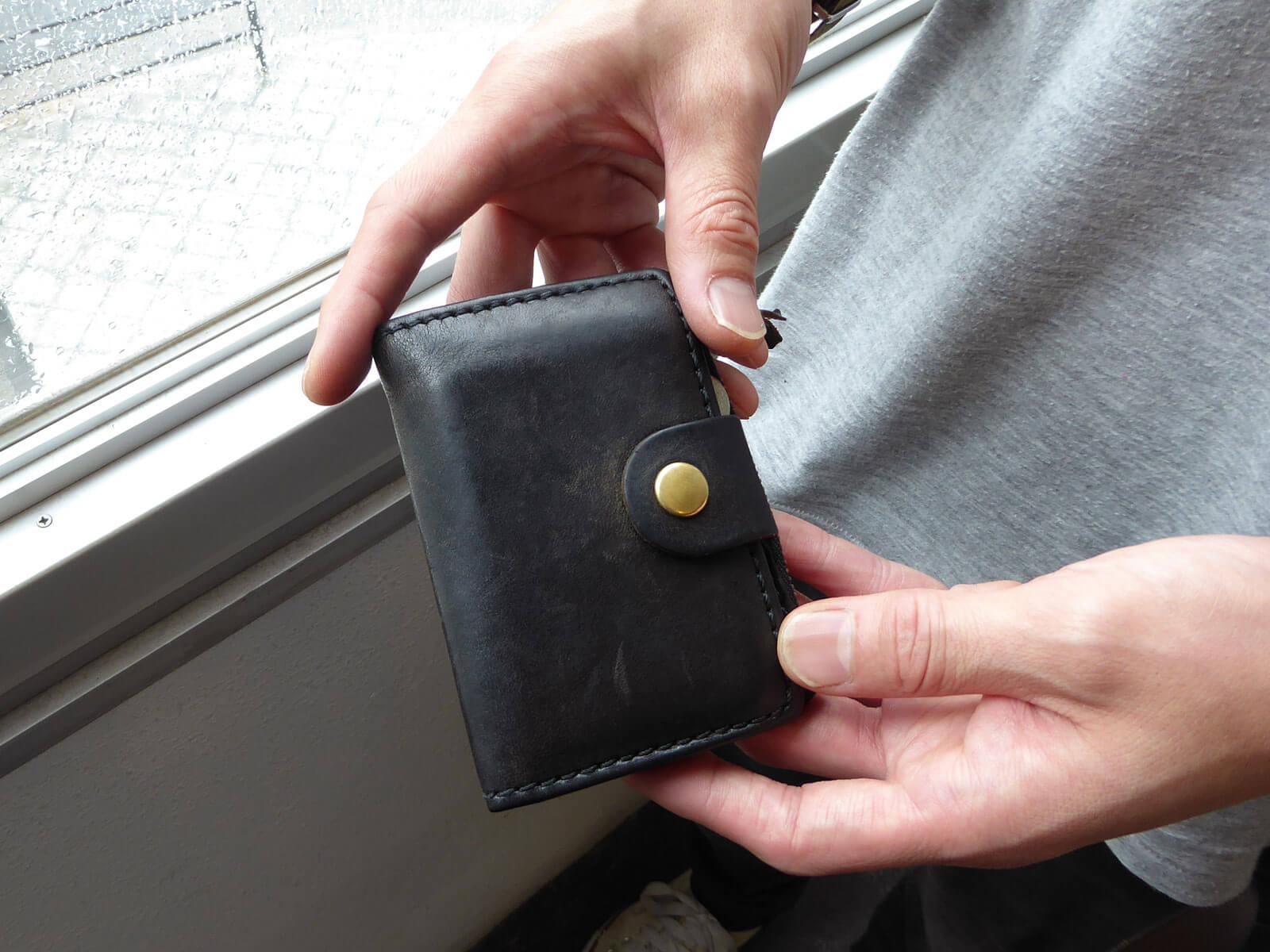 大阪店作り手:今井「小銭入れ付きキーケース」
