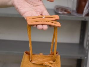 マルチケース企画 巾着革袋