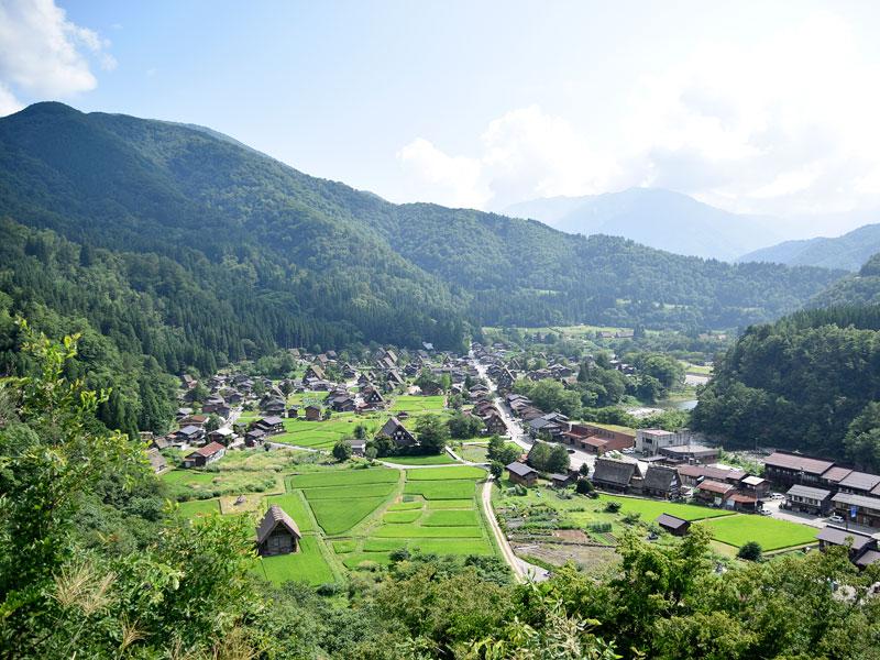高山・白川郷の風景9