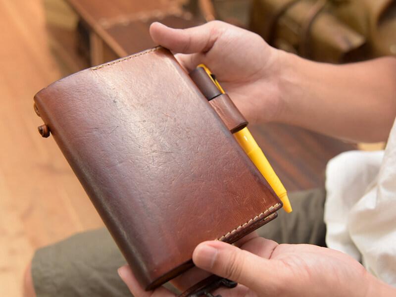 小野寺のほぼ日手帳カバー