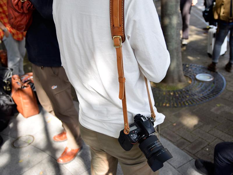 小野寺のカメラストラップ