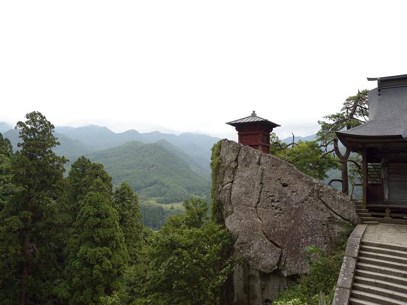 山寺の景色