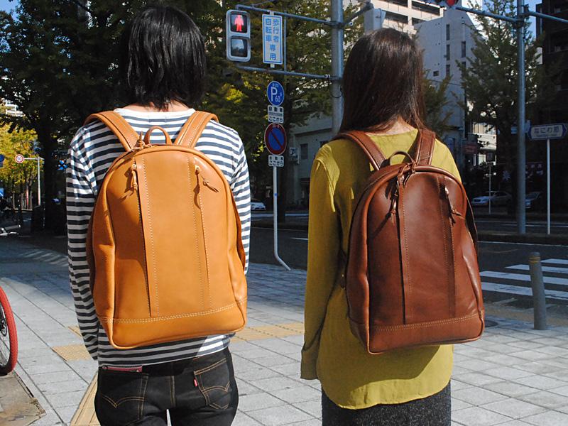 旅モノ2016大阪店 作り手:今井作「ジッパータウンリュック」