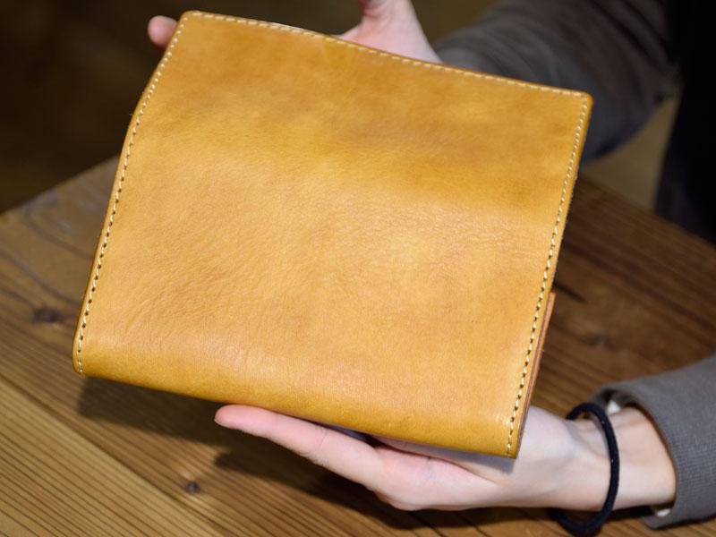 ソフトレザーの長財布(WL-63) 後面