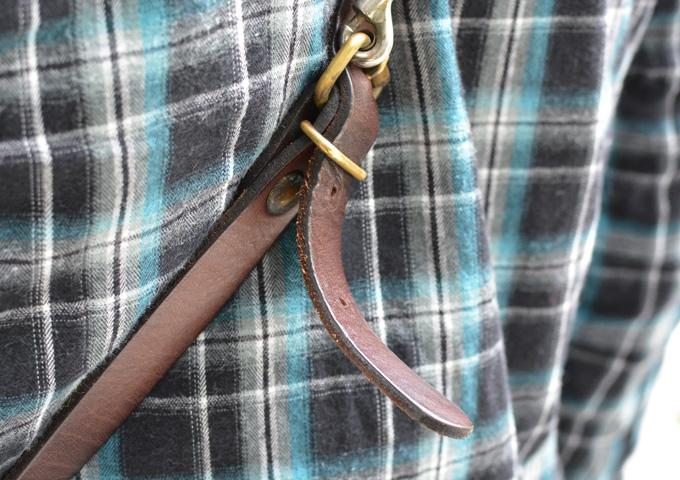 スタッフ愛用品本店作り手:間所「ナレッジバッグ・KNOWLEDGE BAG」 エイジング8