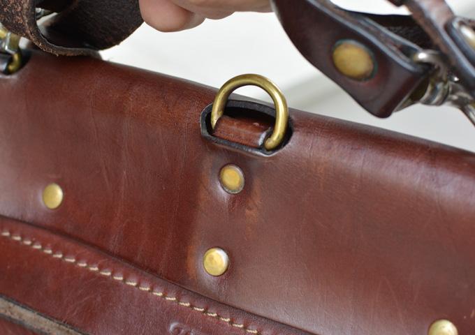 スタッフ愛用品本店作り手:間所「ナレッジバッグ・KNOWLEDGE BAG」 エイジング7