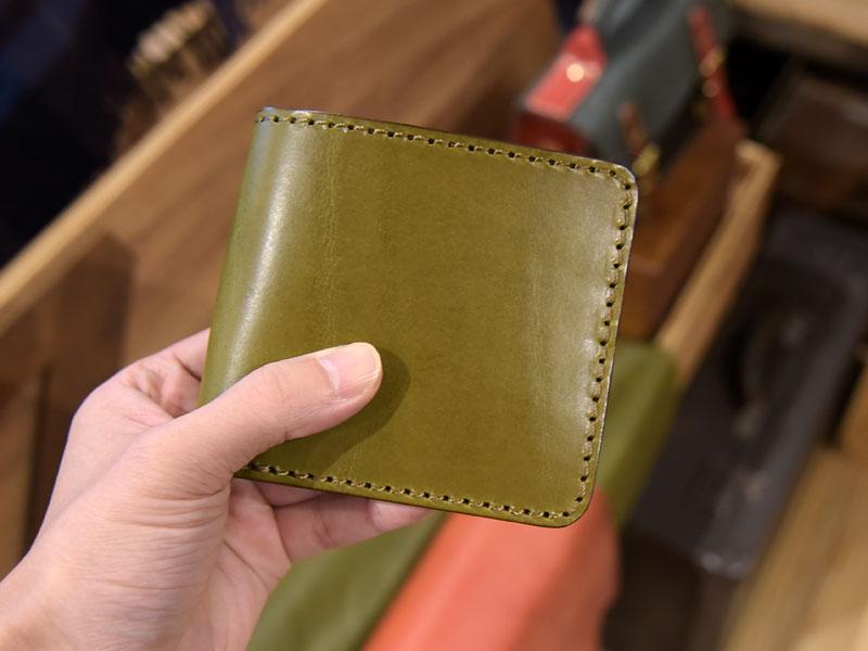 二つ折り財布(WS-3)のスーパーカラー仕様