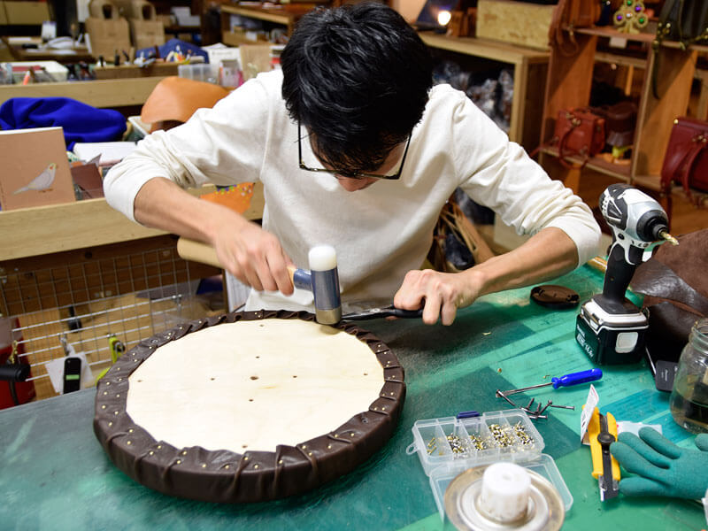 作り手:田中の大工仕事