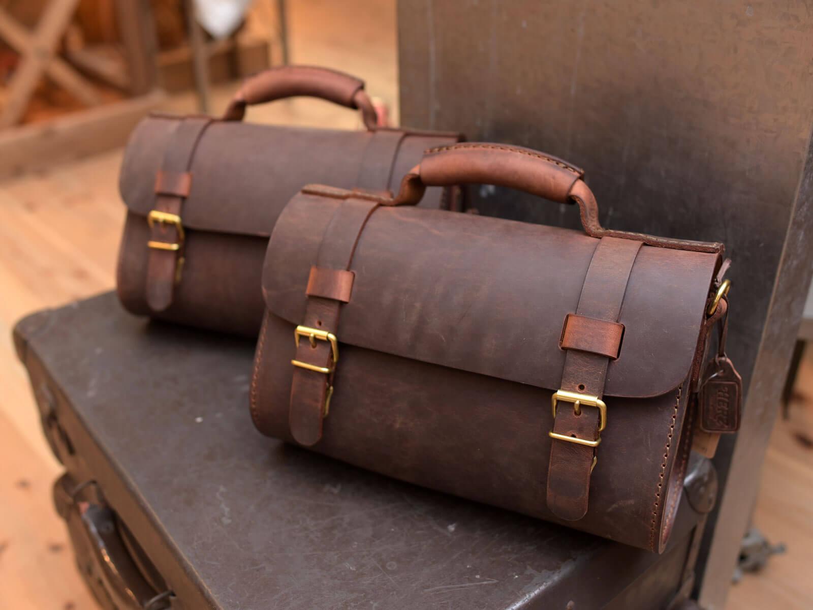 HERZ本店2016年最後の企画!秘蔵の素材で送る鞄たち!