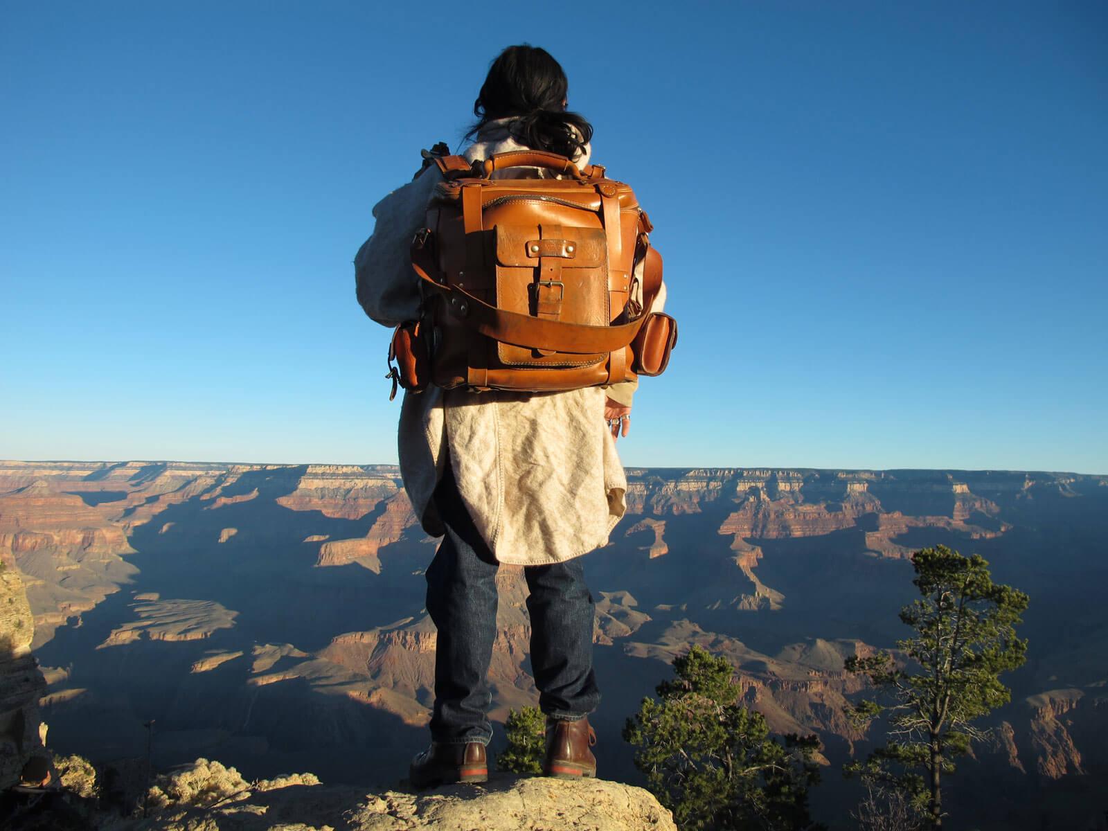 世界を旅する革鞄 ~グランドキャニオン&ザ・ウェーブ~