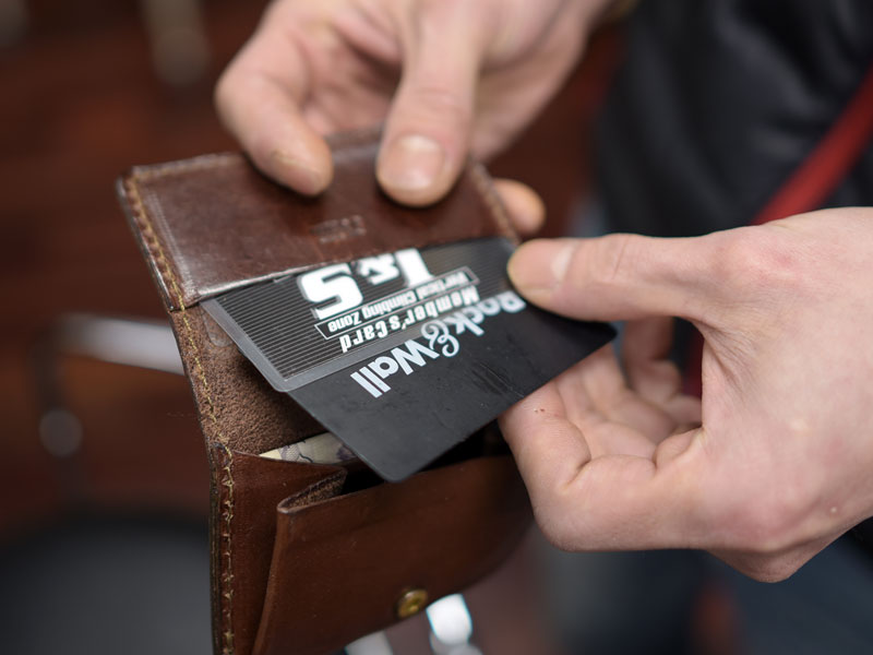 スマートウォレット カード収納1