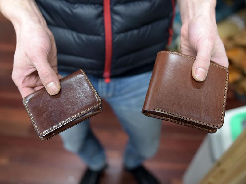 丁度よいサイズの財布