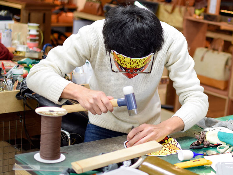 名古屋店の節分の様子1