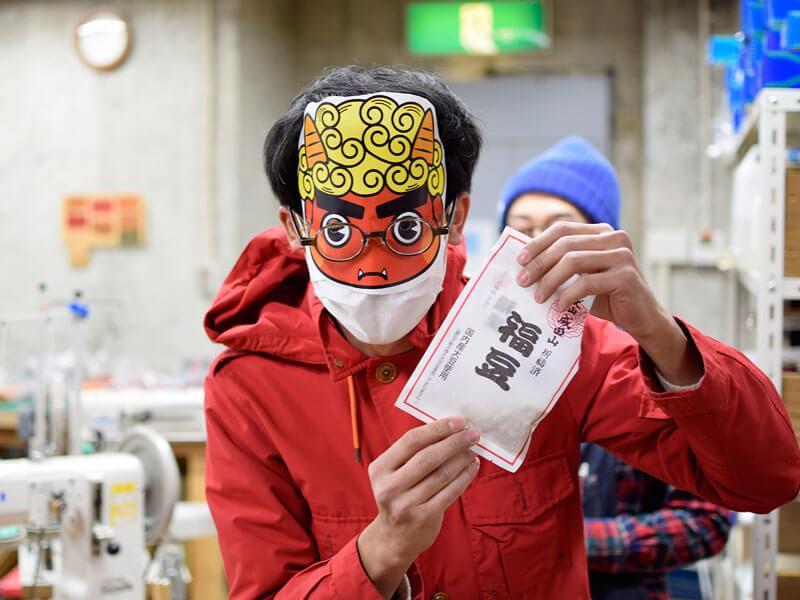 名古屋店の節分の様子2