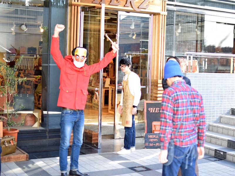 名古屋店の節分の様子4