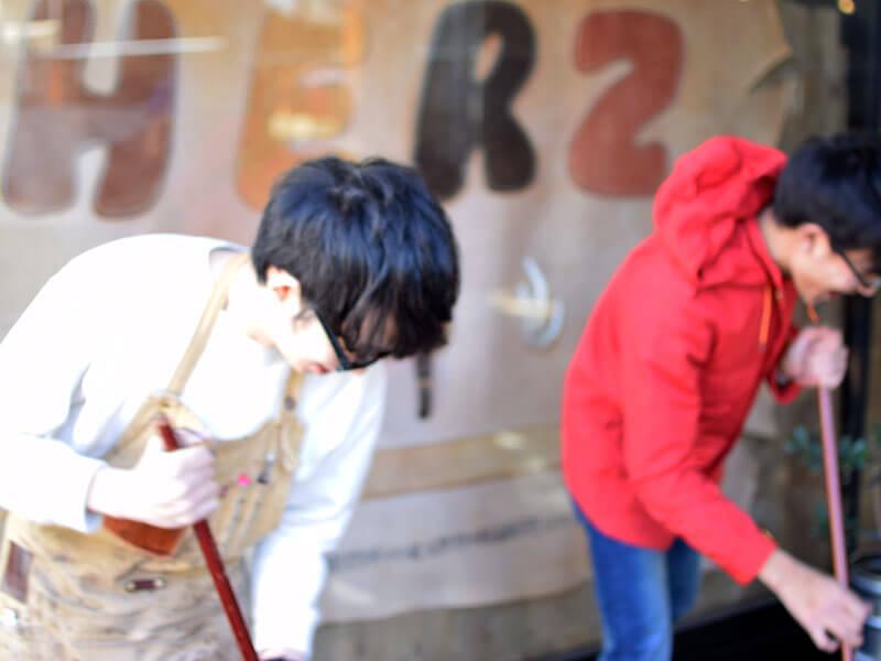 名古屋店の節分の様子5