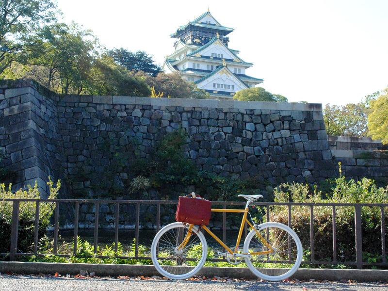 自転車と3wayバッグ