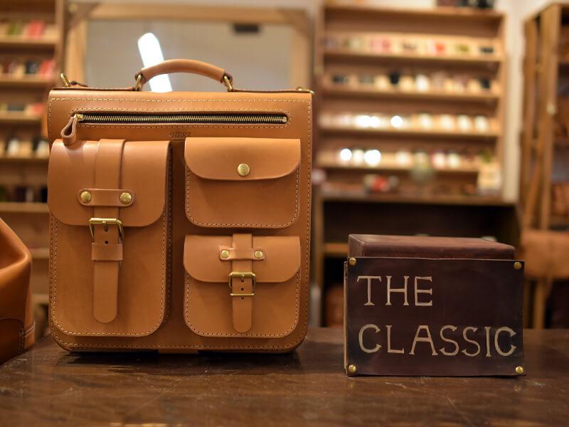 クラシックな鞄