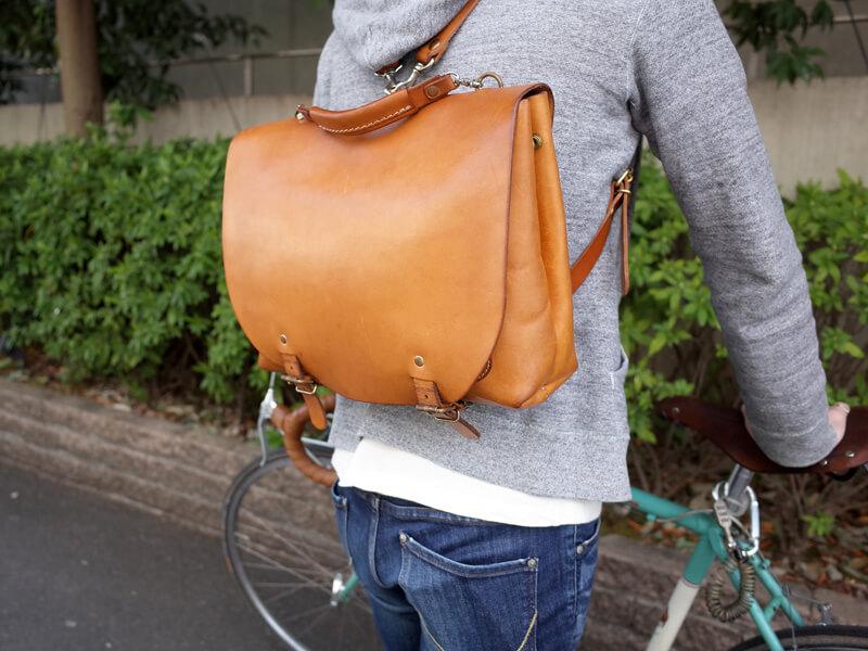 自転車通勤とナレッジバッグ