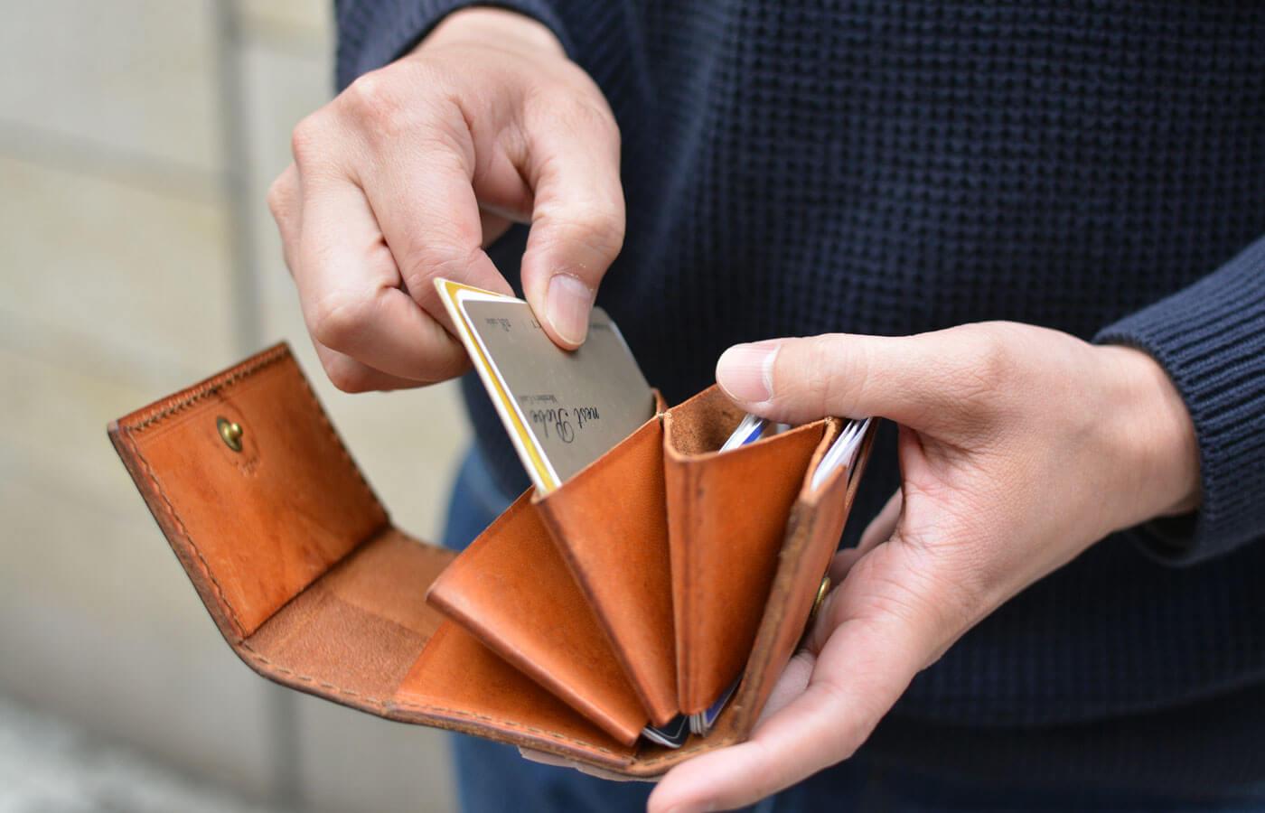 スタッフ愛用品 オンラインスタッフ:小野寺 ドキュメントカードケース