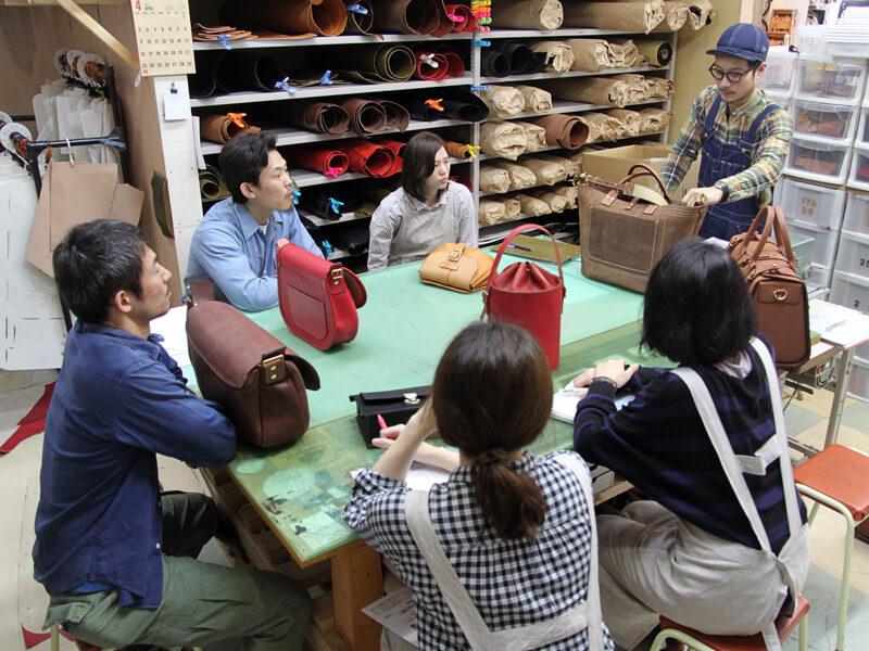 オープン記念鞄品評会1