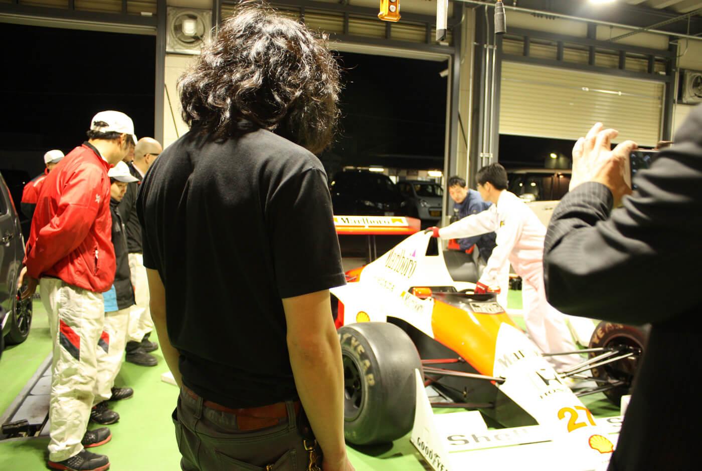 故アイルトン・セナ氏がドライブしたF1マシン