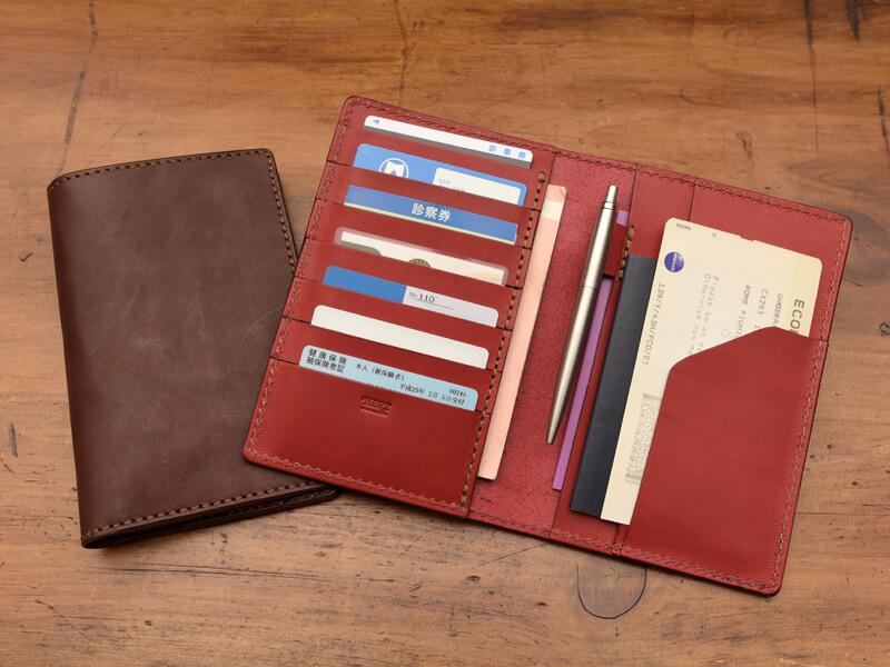 マルチ手帳ケース 収納例