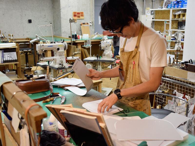 名古屋店の工房風景2