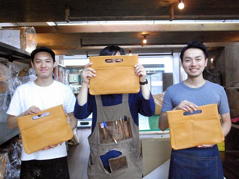 バッグインバッグを持つ作り手たち