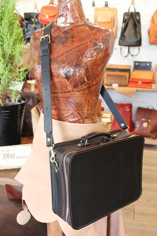 箱型鞄・2wayビジネスバッグ(BF-40-L)