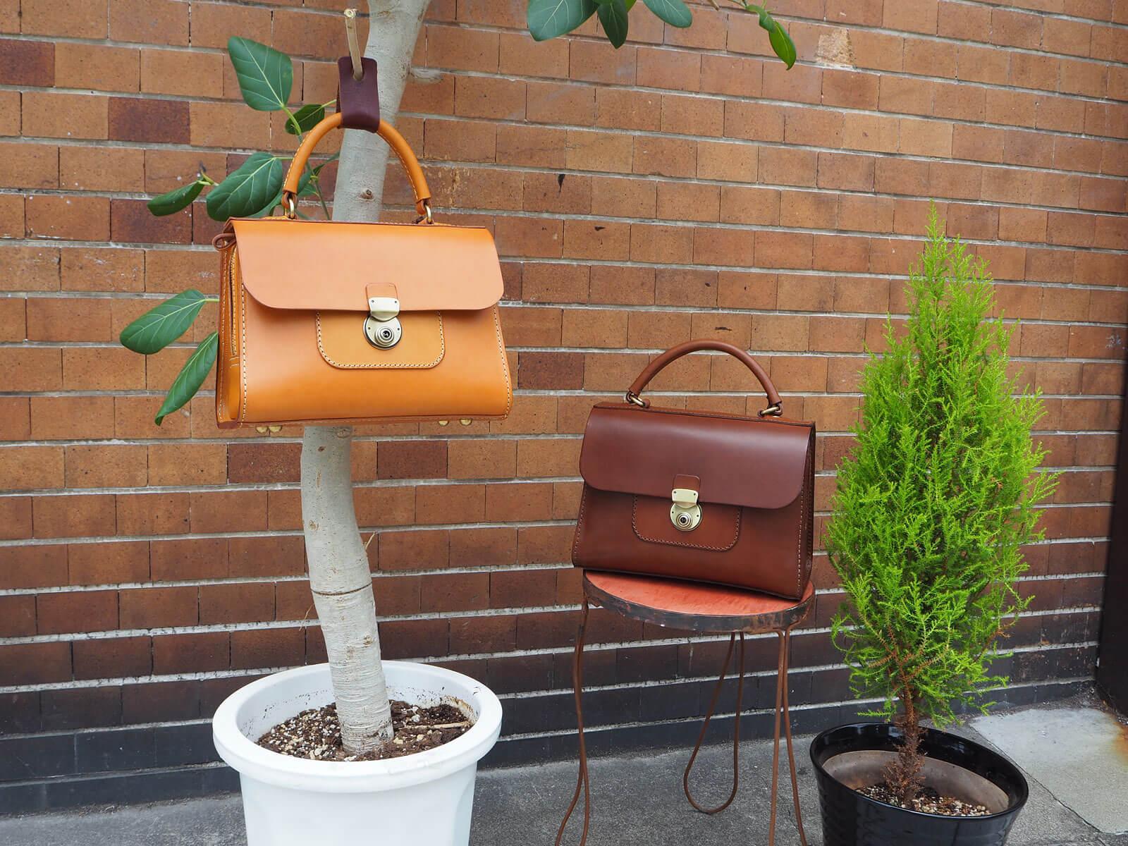 「アオリノハンドバッグ」&「MINIボストン」が届きました!