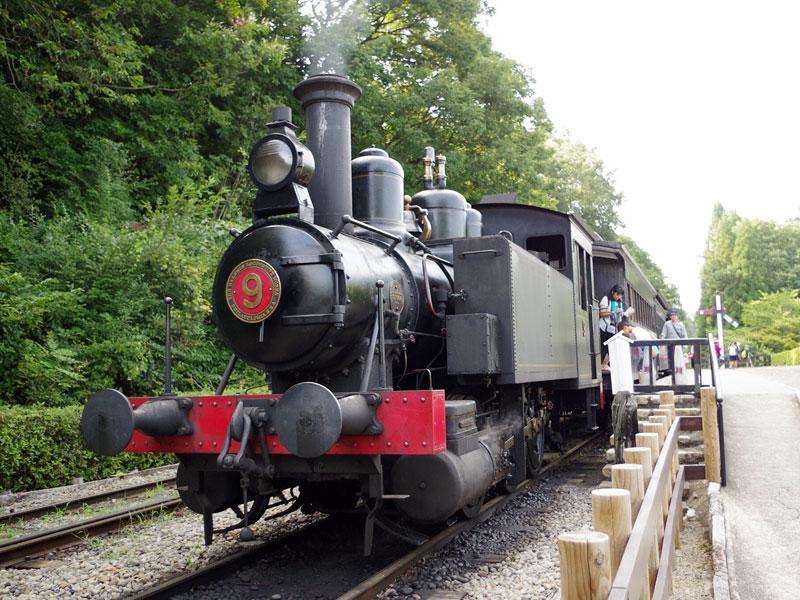 明治村のSL機関車
