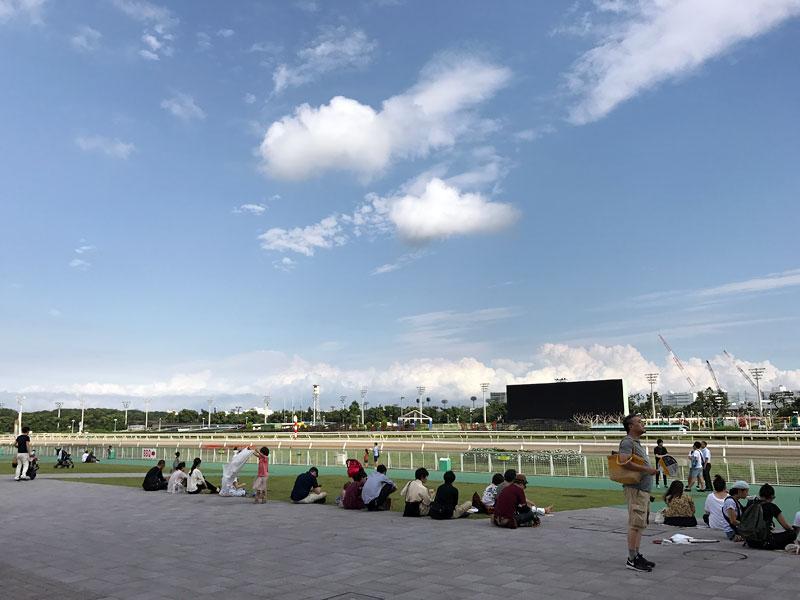 真夏の東京蚤の市 開催風景