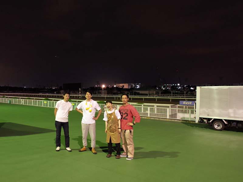 真夏の東京蚤の市 終了後