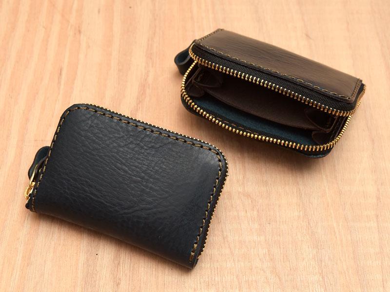 【ネイビー特別仕様】小型財布(KK-59)