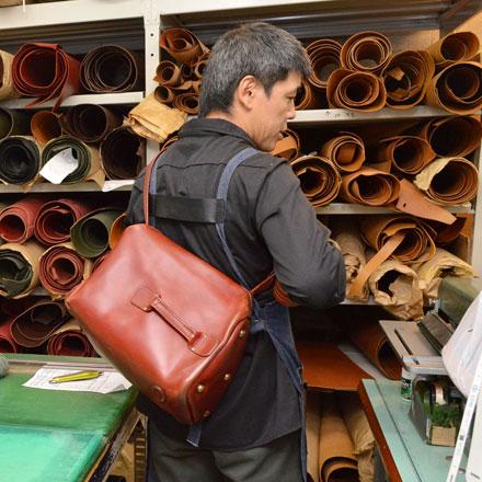 渋谷工房作り手:鈴木「箱型ボンサック」